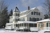 Hotel Pemaquid - Where I once got a discounted rate for building a fire in the parlor fireplace. This was alos the first p[lace I stayed with my wife in Maine.